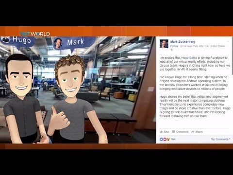 Money Talks: Facebook's new VR boss Hugo Barra