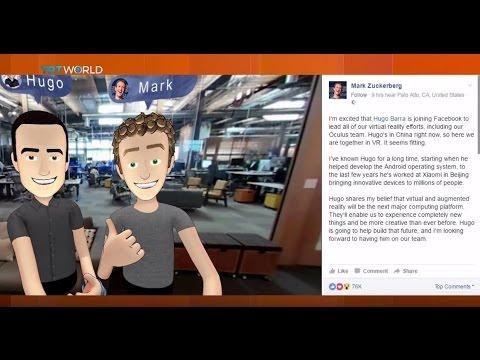 Money Talks: Facebook's new VR boss Hugo Barra