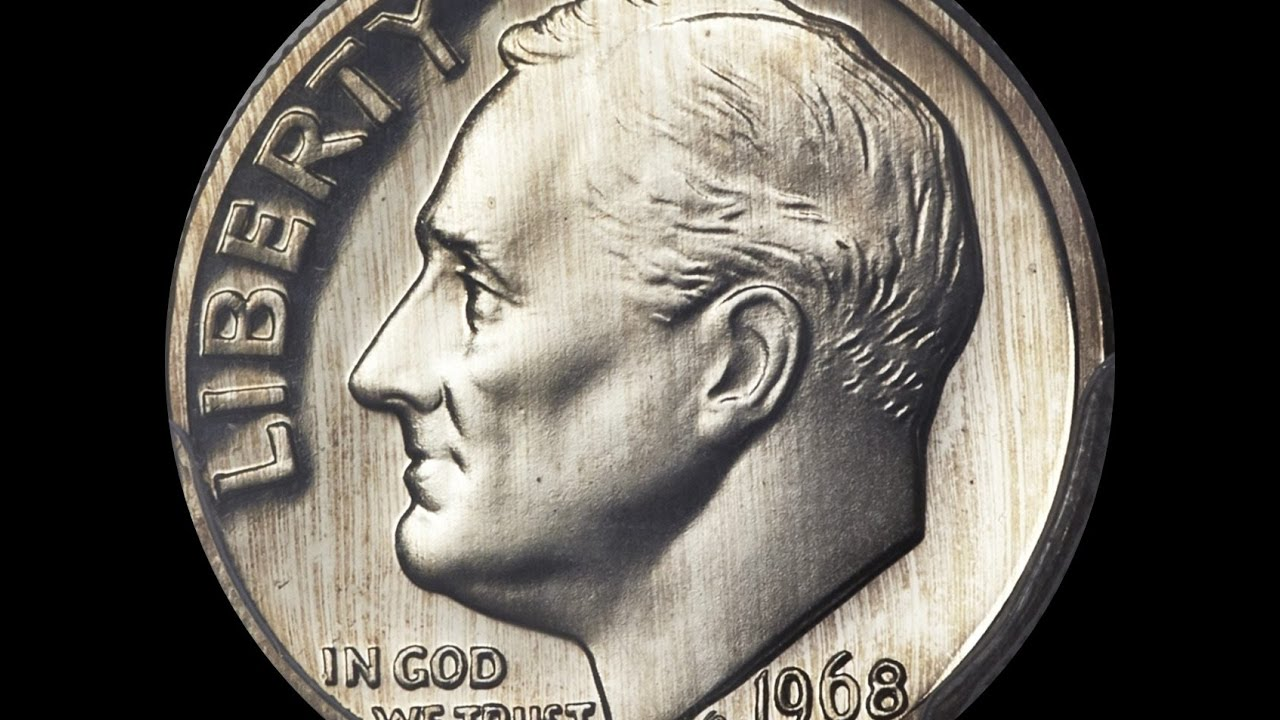 Famous 1968 Roosevelt Dime Auctions For 22325