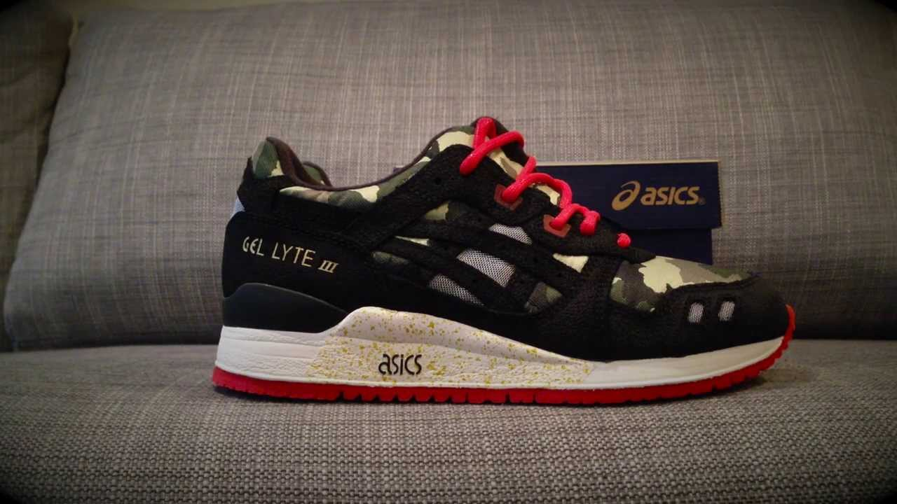 6eef9c66ac1c5 BAIT x ASICS Gel Lyte III Vanquish Review & On Feet - YouTube