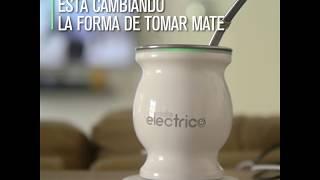 Video: Crearon el MATE eléctrico que siempre está caliente y la YERBA no se LAVA