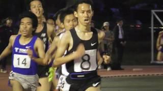 平成国際大記録会 5000m10組 蛭田雄大(中大OB)二戦連続の組トップ 2019.5.18