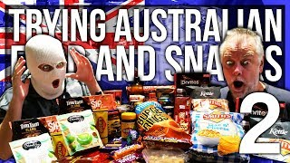 ANOMALY TRIES AUSTRALIAN FOOD AND SNACKS (PART 2)