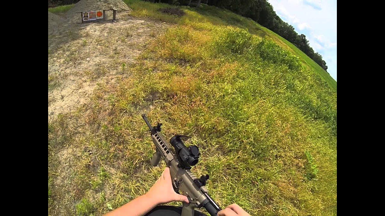 Shooting My Sig Sauer Ar 15