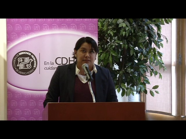 Palabras Dra. Perla Gomez Gallardo en la Presentación Pública de la Propuesta General 1:2015