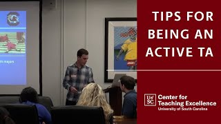 Tips for Being an Active TA