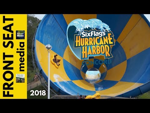 Concord Water Park is Now Six Flags Hurricane Harbor Concord -- Opening Spring 2018!