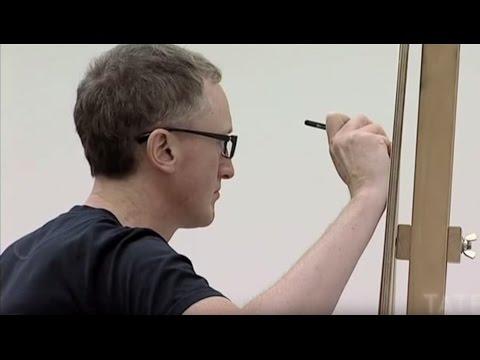 Michael Landy – Drawing Portraits   TateShots