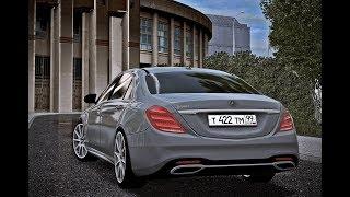 City Car Driving - Mercedes-Benz S560 V8 2018 | NIGHT DRIVE | Custom SOUND | 1080p & G27