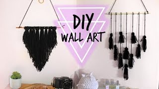 DIY BOHO INSPIRED WALL ART//ROOM DECOR!!!!