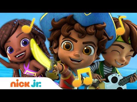 Let's Go Amigos Song w/ Santiago of the Seas! ⚓️⛵️| Nick Jr.