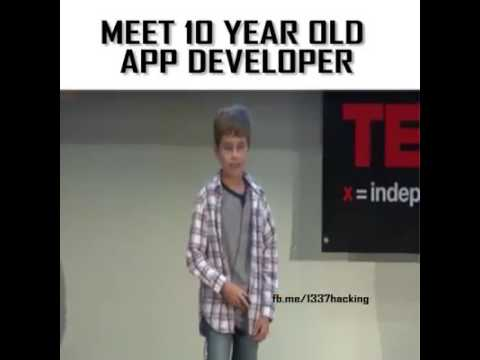 Meet 10 years Old Boy app developer