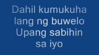 Repeat youtube video Mahal Kita Pero Di Mo Lang Alam lyrics