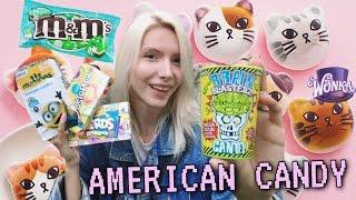 ПРОБУЕМ АМЕРИКАНСКИЕ СЛАДОСТИ! M&Ms КИСЛЯТИНА из США! Trying American Candy!