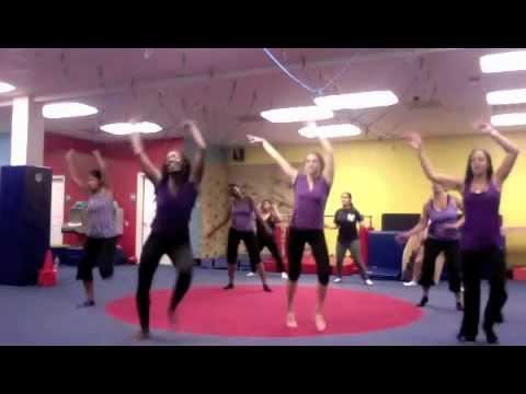 Caribbean Dance to Rupee Jump; Cardio Fitness Class