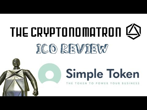 SIMPLE TOKEN ICO Review! Cryptocurrency to Power Digital Communities! ST