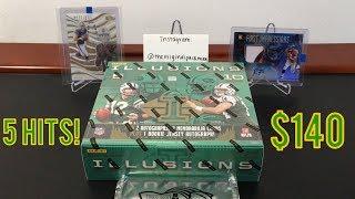 2018 Panini Illusions Football Hobby Box Break - $140 Per Box w/ 5 Hits (1 RPA)