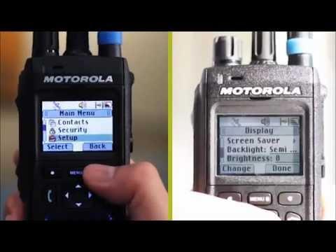 Motorola MTP 3000 TETRA Radio Series