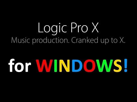 LOGIC PRO X Installation In WINDOWS Pc 2016 - YouTube