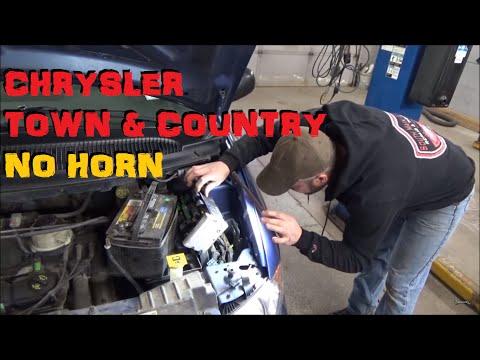 Chrysler Town & Country / Dodge Grand Caravan - No Horn