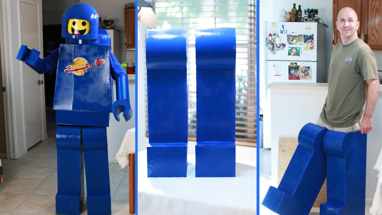 How to make an awesome lego man costume legs lego movie benny how to make an awesome lego man costume legs lego movie benny youtube solutioingenieria Gallery