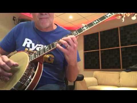 Worship Tunes -10,000 Reasons 5 string banjo