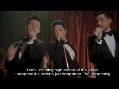 Glee - The Happening (Full Performance with Lyrics)