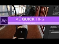 3D CAMERA TRACKER   After Effects CC Quick Tips