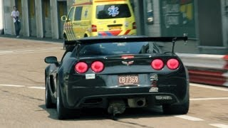 Corvette C6 Z06 Stage2 w/ Corsa Exhaust System!! BRUTAL SOUNDS!!