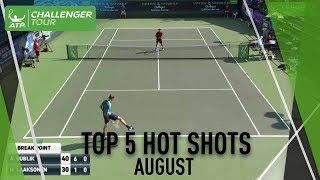 Top 5 Challenger Hot Shots Of August thumbnail