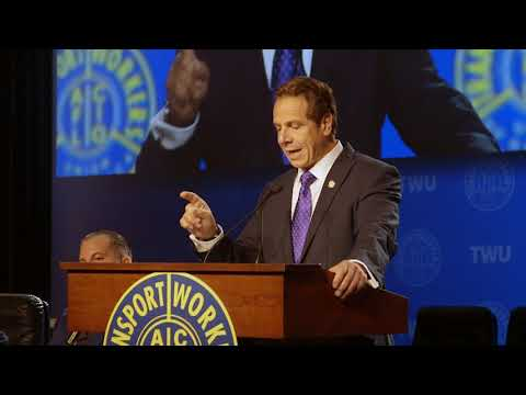 Governor Cuomo Addresses the Transport Workers Union Convention