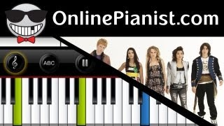Bridgit Mendler - Determinate (Lemonade Mouth) - Piano Tutorial