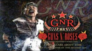 Guns n Roses - Whole Lotta Rosie Tokyo 2009 - good quality (only audio)
