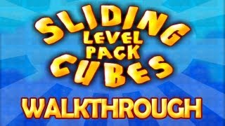 Sliding Cubes Levels Pack - Walkthrough