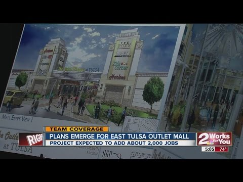 The Race Is On To Build Tulsa's Outlet Mall