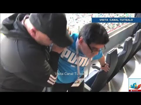 Así acabó Maradona tras el Argentina vs Nigeria