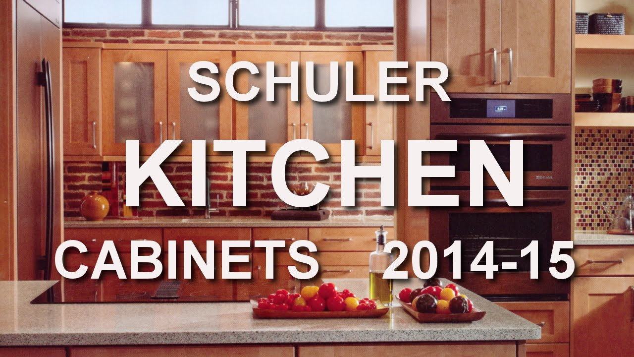 SCHULER Kitchen Cabinet Catalog 2014-15 at LOWES - YouTube