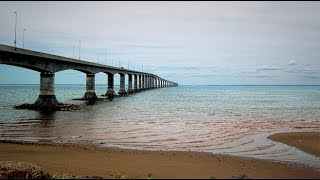 GGC - 36 - The 12.9km Confederation Bridge from PEI to New Brunswick