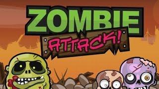 Книга Зомби   Мультик игра #1 Первая атака