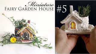 Sharing miniature fairy house No.5 DIY idea. In this clay craft project, I use dry brush painting technique. I was worried in the beginning that my mini house will ...