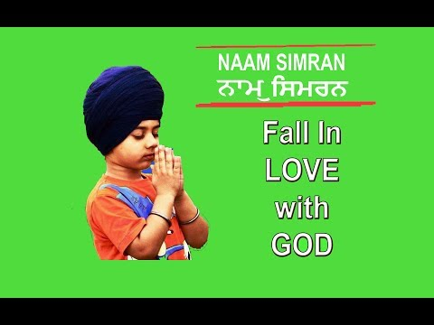 Waheguru Naam Simran by Sikh Child - Soft, Calm and Relaxing - Fall in Love with God