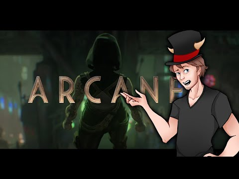 Necrit Reacts to the NEW ARCANE Trailer