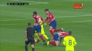 Season 2018/2019. Atletico de Madrid - FC Barcelona - 1:1