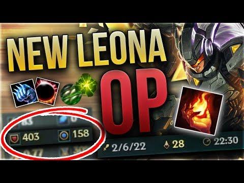 AfterShock Leona Support? Preseason Leona ist OP! [League of Legends] [Deutsch / German] thumbnail