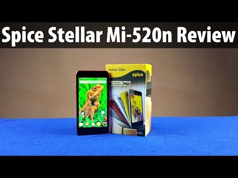 Spice Stellar Mi 520n Review: Unboxing & Full In-depth Hands