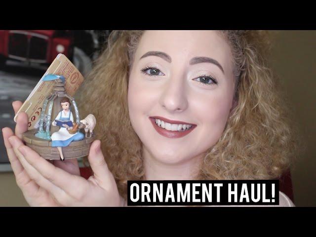 Disney Christmas Ornament Haul ♡