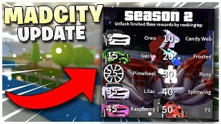 Roblox Madcity Live!🔴| NEW SEASON 2 Level UPDATE 🌟| Hoverboard!| Come Grind with us! 😄💖