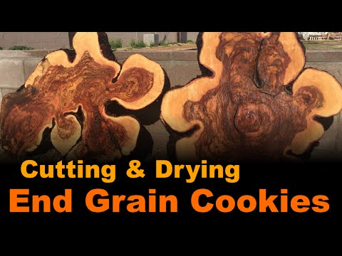 Cutting And Drying End Grain Cookies