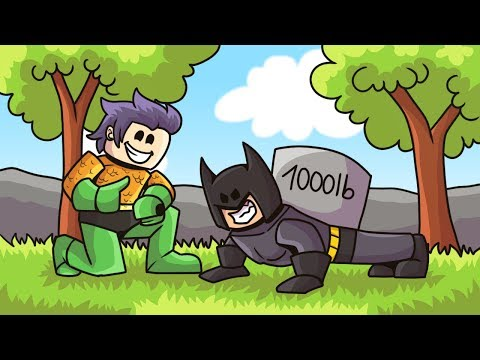 TRAINING To Be The STRONGEST SUPERHERO In Roblox!