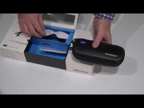 Cinemizer OLED Multimedia Video Glasses Unboxing 4K UltraHD